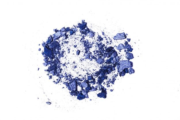 Ombretto blu e grigio in polvere
