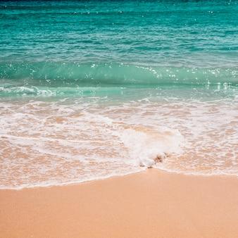 Onde nella sabbia