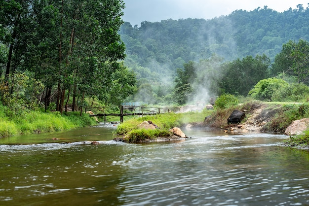 Onsen a plai-poo hot spring kapong phang-nga