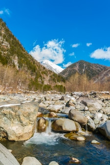 Onsen all'aperto, giappone