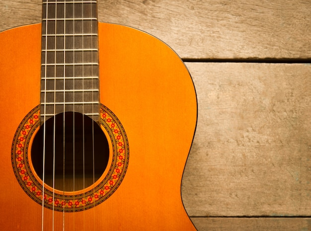 Opporsi chitarra acustica corpo di legno