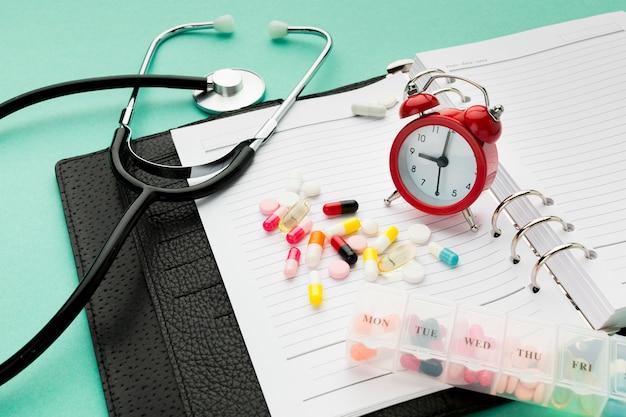 Ordine del giorno e pillole del primo piano sullo scrittorio