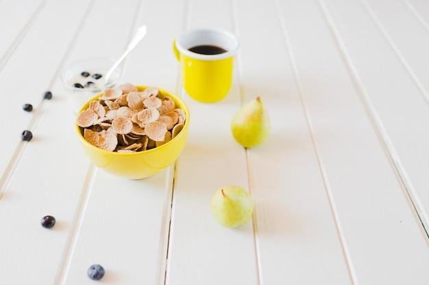 Organizzare un pasto dolce e salutare