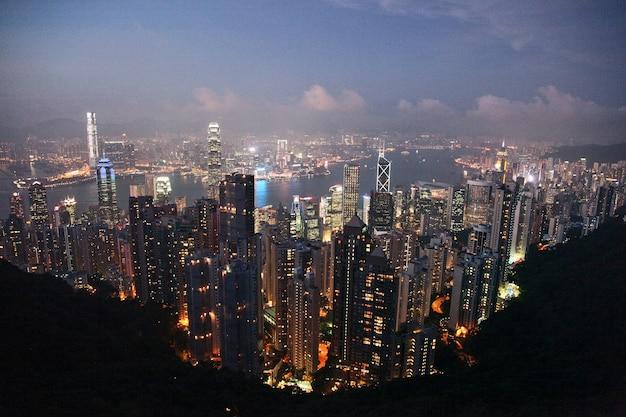 Orizzonte di hong kong