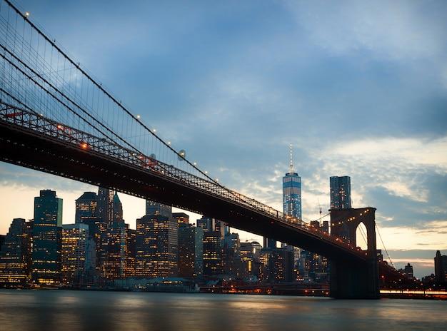 Orizzonte di new york city