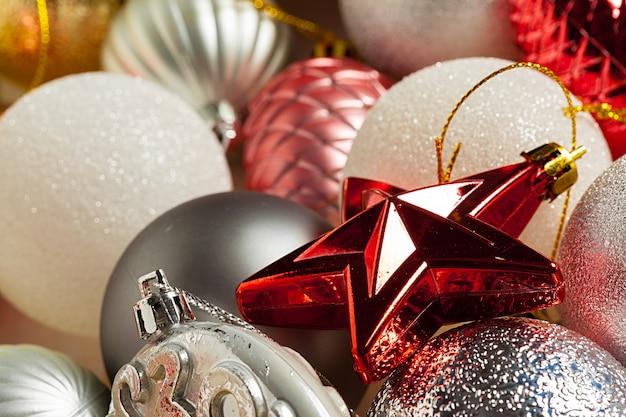 Ornamenti di vacanze di natale