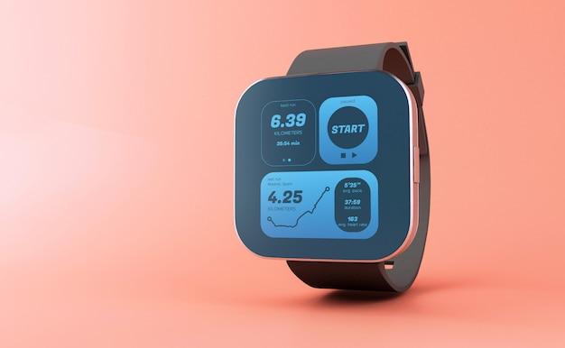 Orologio 3d smart