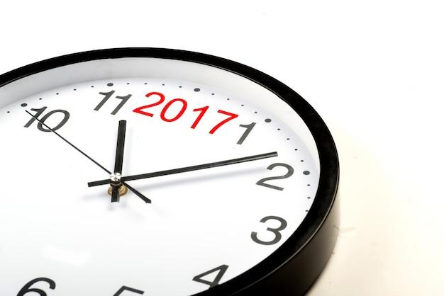 Orologio con il numero 2017