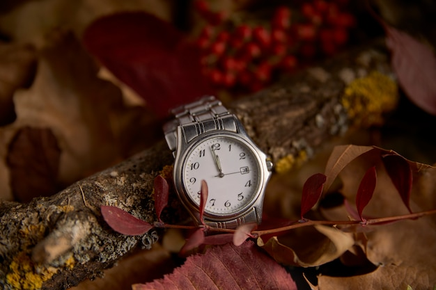 Orologio in assenza di un minuto per iniziare il nuovo anno 2019
