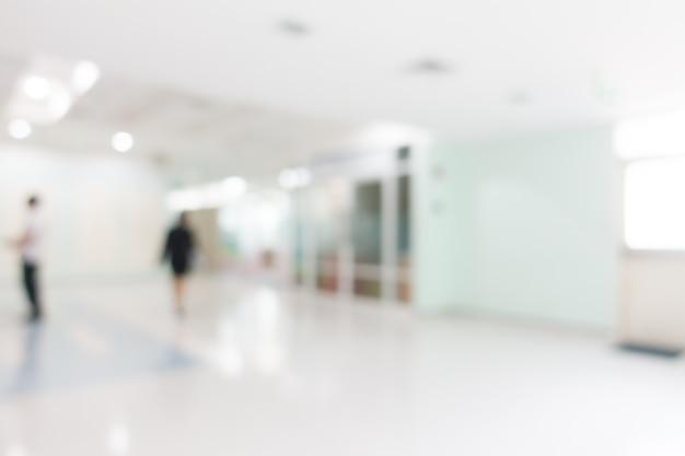 Ospedale di sfocatura
