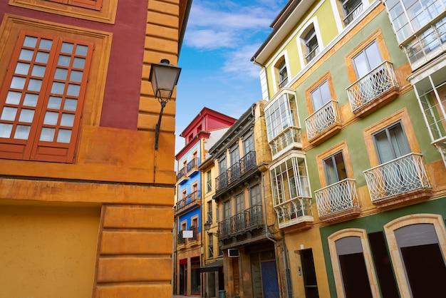 Oviedo nelle asturie di spagna