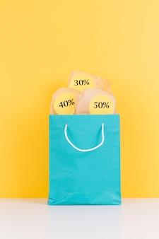 Pacchetto commerciale con adesivi in vendita