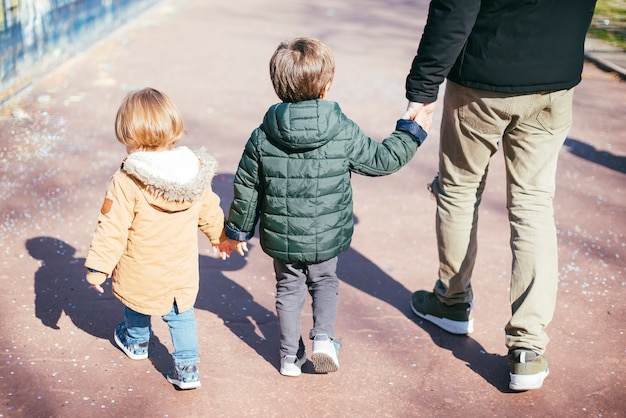 Padre, cammina con i figli