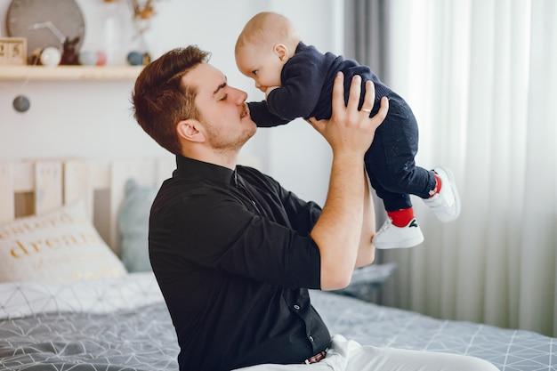 Padre con figlio