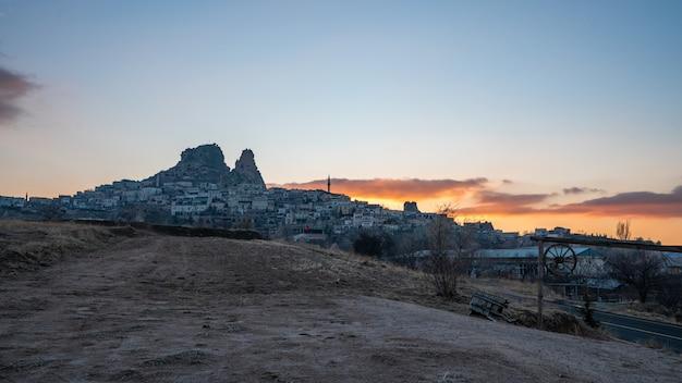 Paesaggio cappadocia a goreme, turchia