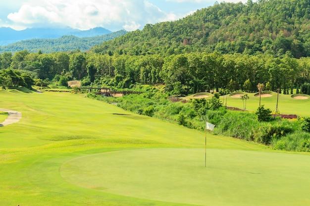 Paesaggio del campo da golf