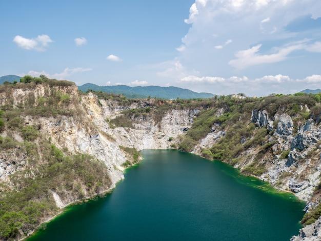 Paesaggio del grand canyon in tailandia.