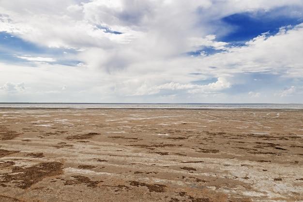 Paesaggio del lago ebeyty ebeyty