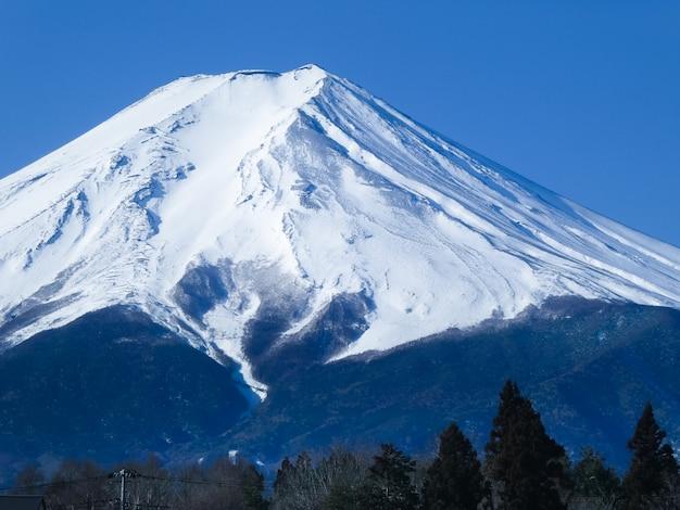 Paesaggio del monte fuji
