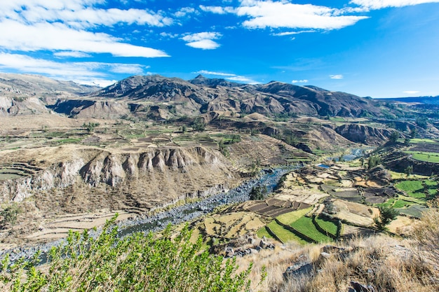 Paesaggio del perù