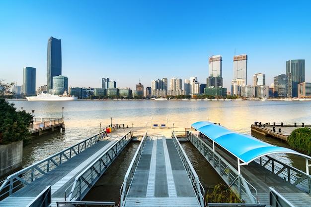 Paesaggio della città di shanghai