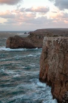 Paesaggio della costa di sagres