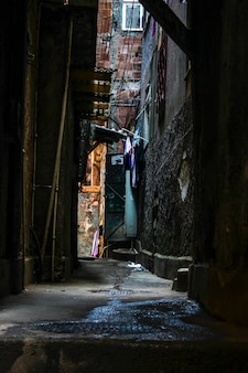 Paesaggio della favela di cantagalo