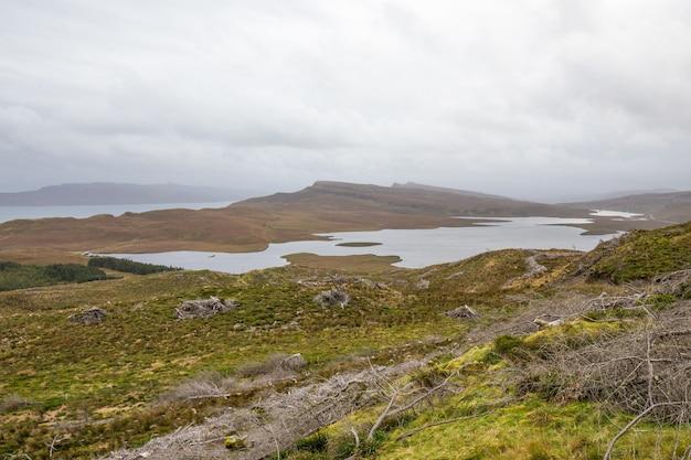 Paesaggio della scozia