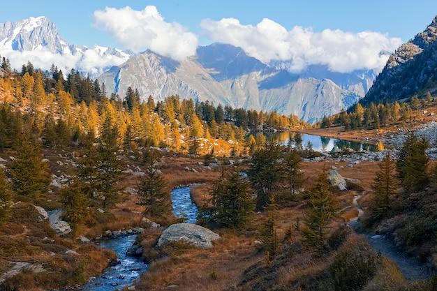 Paesaggio delle alpi