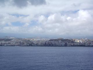 Paesaggio delle isole canarie