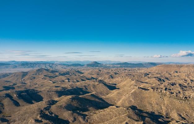Paesaggio delle montagne in turchia