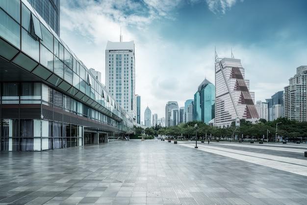 Paesaggio di architettura della città moderna