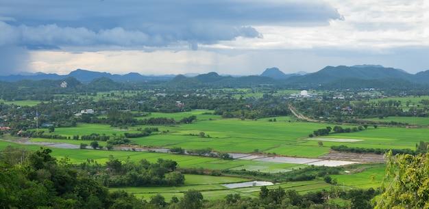 Paesaggio montano in thailandia