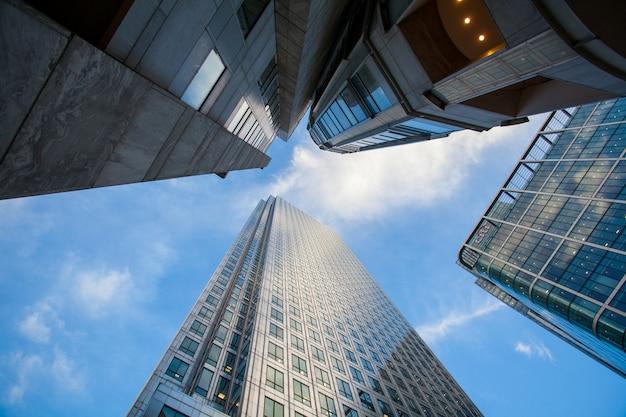 Paesaggio urbano dell'edificio per uffici di londra