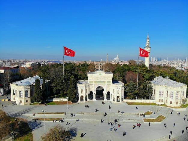 Paesaggio urbano della città di istanbul in turchia