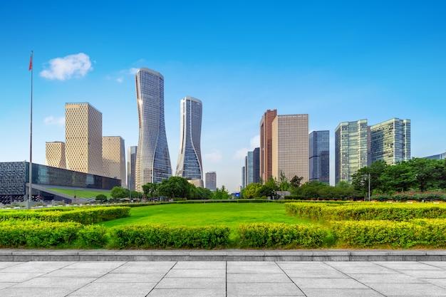 Paesaggio urbano di hangzhou, cina