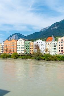 Paesaggio urbano di innsbruck, austria.