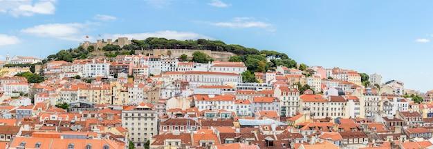 Paesaggio urbano di lisbona portogallo