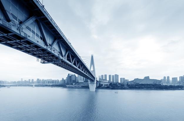 Paesaggio urbano e grattacieli di chongqing