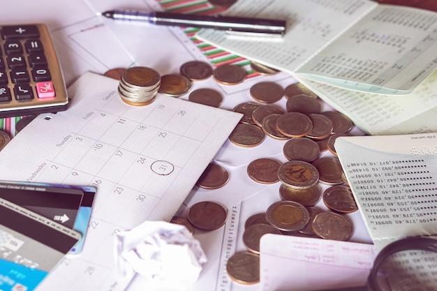 Pagamento della data di scadenza con carta di credito