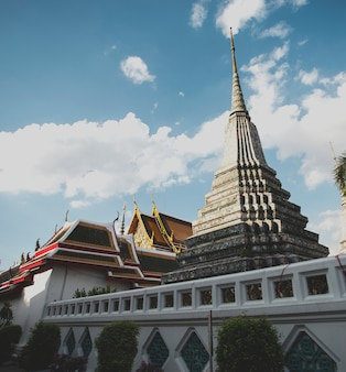 Pagoda del tempio di wat in tailandia