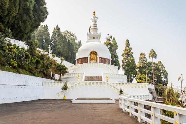 Pagoda della pace, darjeeling