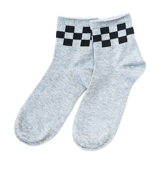 Paio di calzini grigi