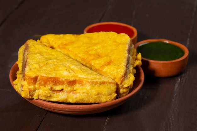 Pakora indiano snack fritto
