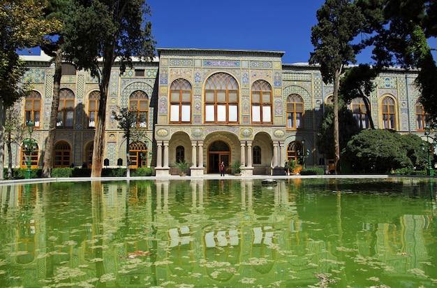 Palazzo golestan nella città di teheran, iran