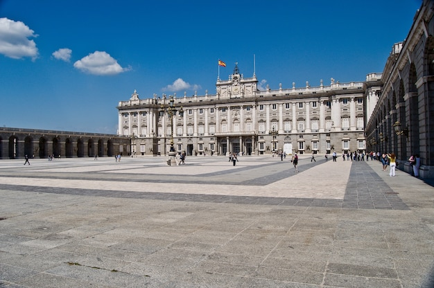 Palazzo orient madrid sspain