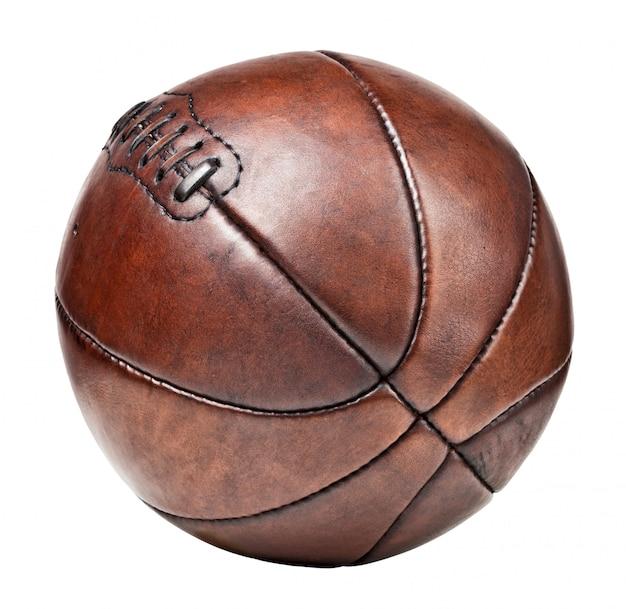 Palla da basket vintage