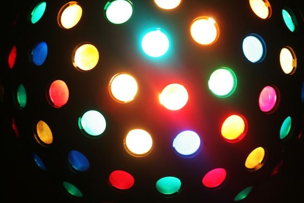 Palla da discoteca di colore