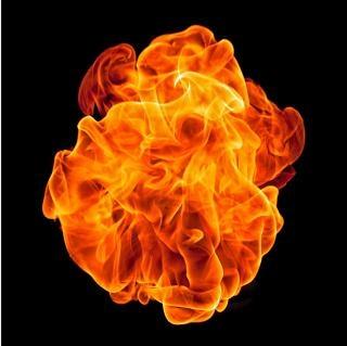 Palla di fuoco pericolo