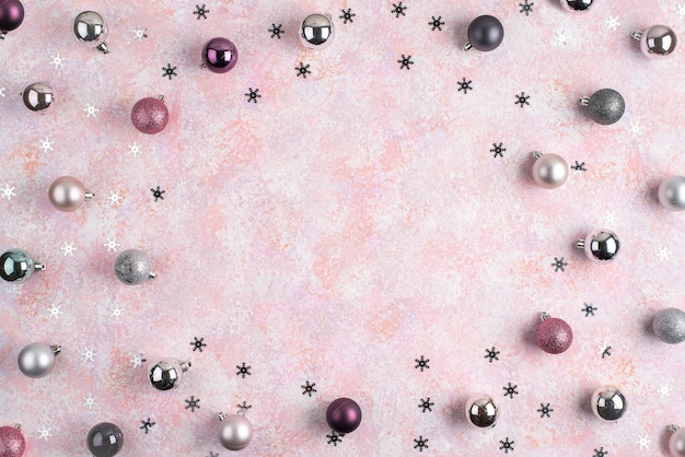 Palle e stelle di natale